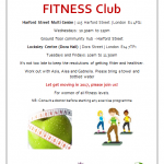 Fit4Life Fitness Club leaflet