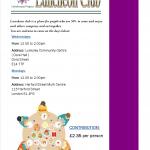 Luncheon club leaflet