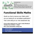 Functional Skills in Maths leaflet