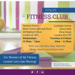 Fit4Life - Fitness Club flyer